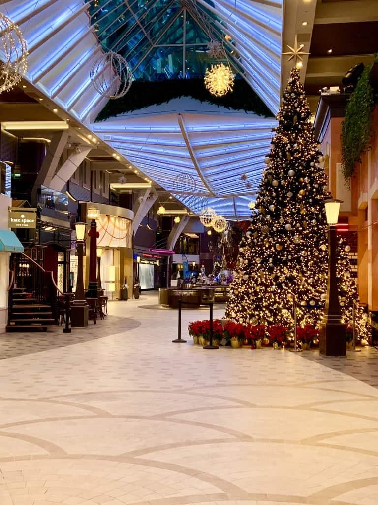 Harmony Of The Seas Royal Promenade Christmas Tree