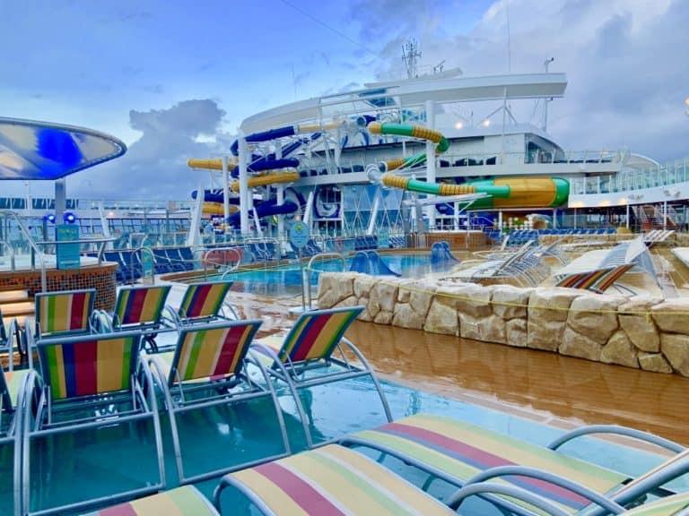Harmony Of The Seas Pool Area