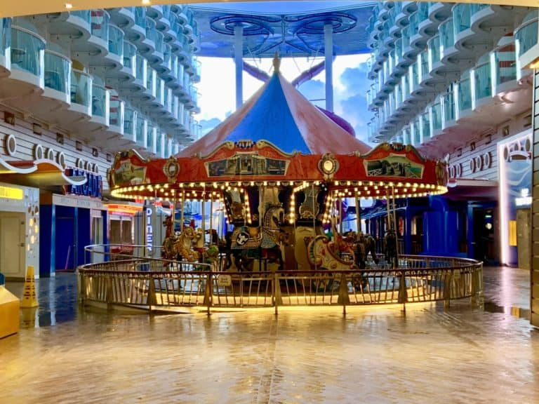 Harmony Of The Seas Carousel