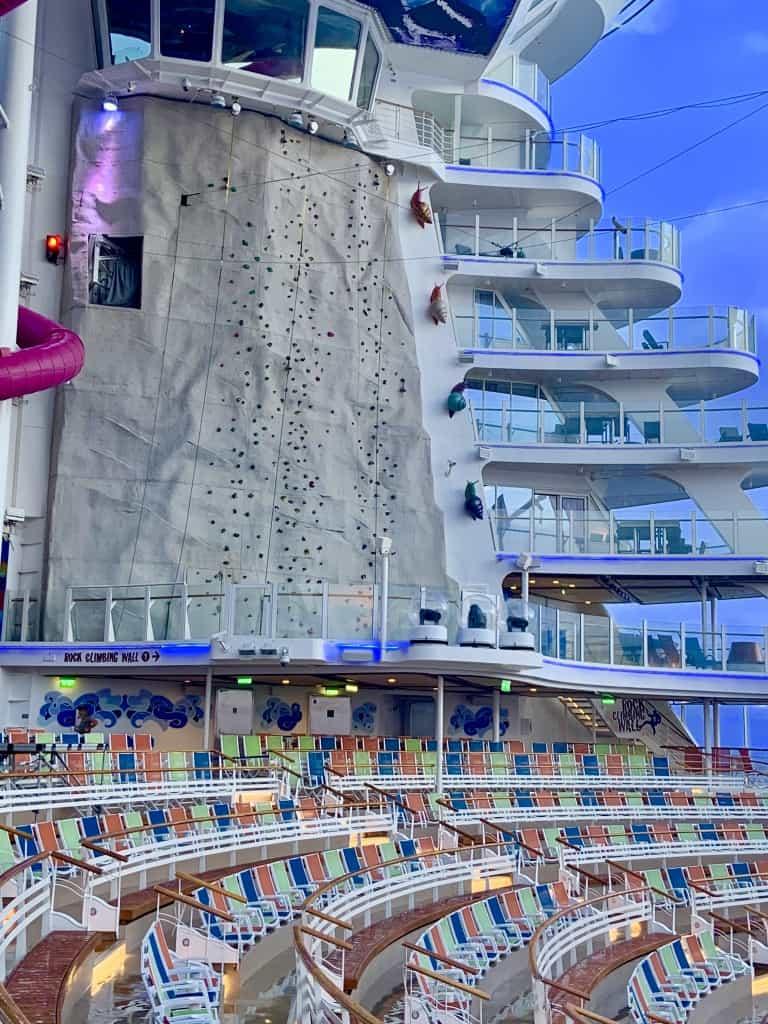 Harmony Of The Seas Rocking Climbing