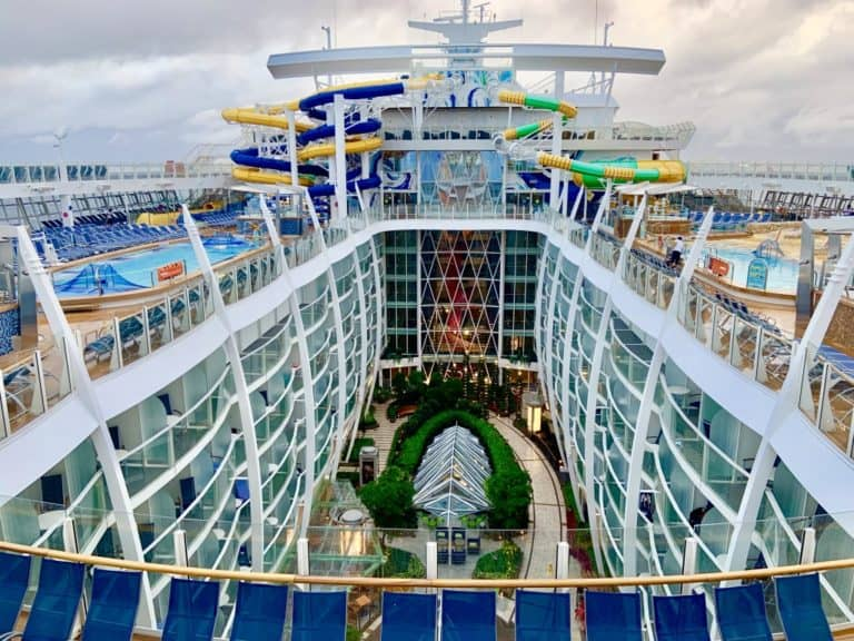 Harmony Of The Seas Caribbean Cruise Water Slide