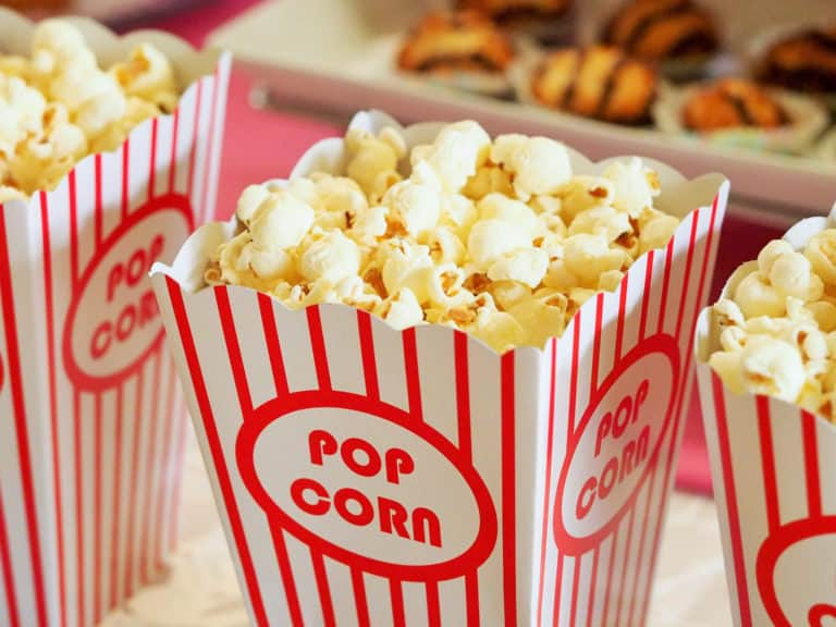 Canva - Popcorn in Buckets