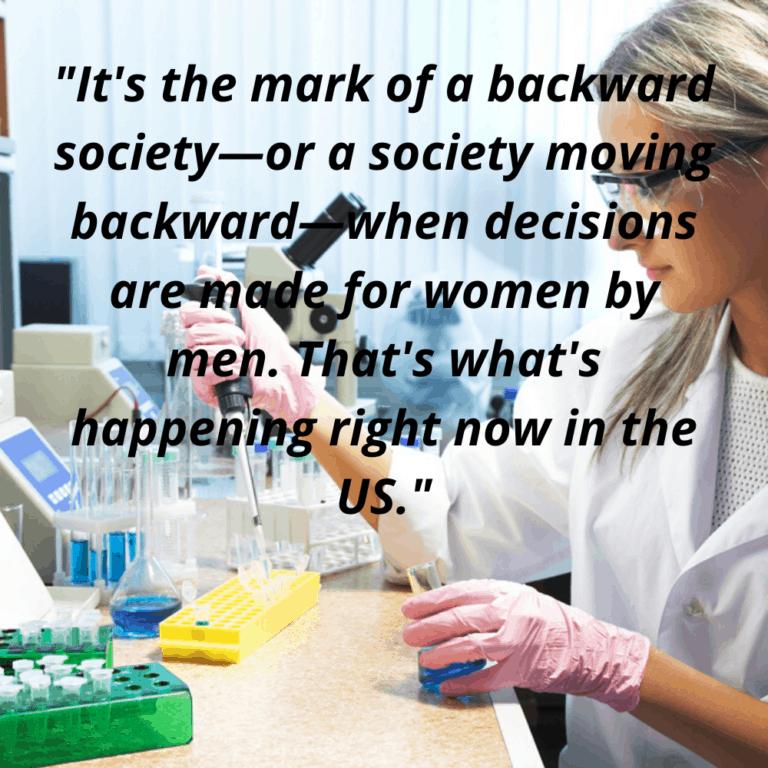 Inspirational Women - Woman Researcher