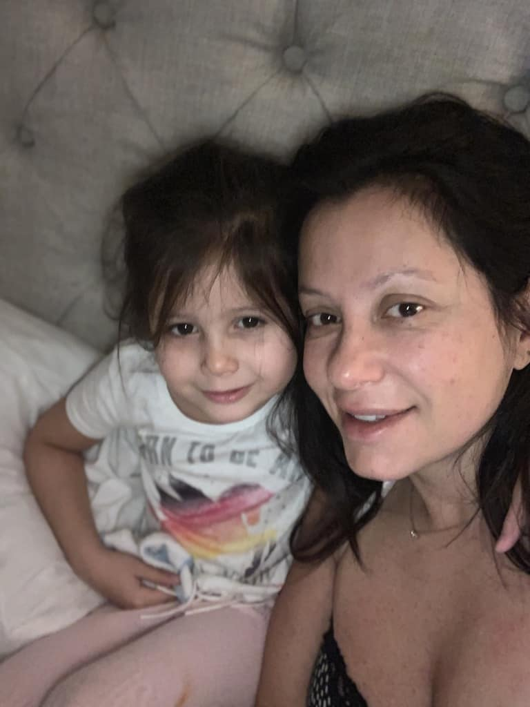 Being A Single Mom Is Hard - Mom and Daughter